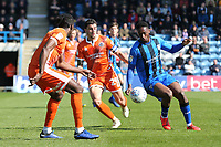 Brandon Hanlan of Gillingham in action during Gillingham vs Shrewsbury Town, Sky Bet EFL League 1 Football at The Medway Priestfield Stadium on 13th April 2019
