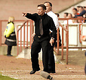 20040509    Copyright Pic: James Stewart.File Name : jspa27_clyde_v_ict.INVERNESS CALEY BOSS JOHN ROBERTSON SHOUTS OUT HIS INSTRUCTIONS TO HIS PLAYERS.....James Stewart Photo Agency 19 Carronlea Drive, Falkirk. FK2 8DN      Vat Reg No. 607 6932 25.Office     : +44 (0)1324 570906     .Mobile  : +44 (0)7721 416997.Fax         :  +44 (0)1324 570906.E-mail  :  jim@jspa.co.uk.If you require further information then contact Jim Stewart on any of the numbers above.........