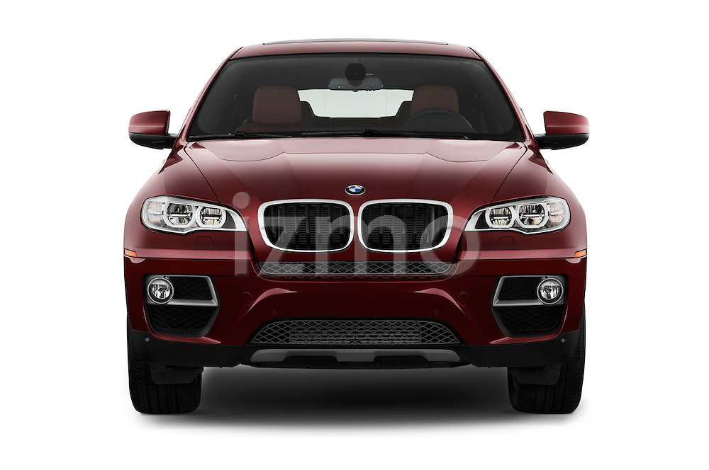Straight front view of a 2013 BMW X6 X Drive 35i