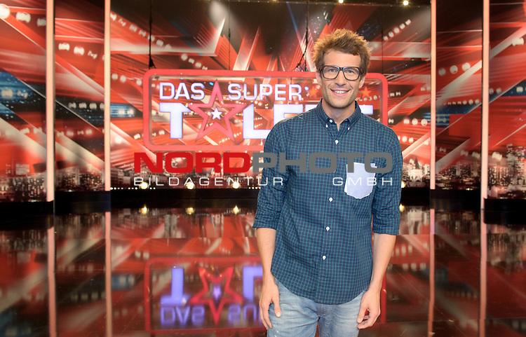 02.08.2013, Musical Theater, Bremen, GER, Das Supertalent, im Bild Daniel Hartwich<br /> <br /> Foto &copy; nph / Frisch