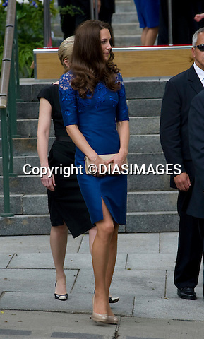 """WILLIAM & KATE_QUEBEC.Attend Freedom of The City Cerremony, City Hall , QuebecCity, Quebec_03/07/2011.Mandatory Credit Photo: ©DIAS-DIASIMAGES..**ALL FEES PAYABLE TO: """"NEWSPIX INTERNATIONAL""""**..IMMEDIATE CONFIRMATION OF USAGE REQUIRED:.DiasImages, 31a Chinnery Hill, Bishop's Stortford, ENGLAND CM23 3PS.Tel:+441279 324672  ; Fax: +441279656877.Mobile:  07775681153.e-mail: info@newspixinternational.co.uk"""