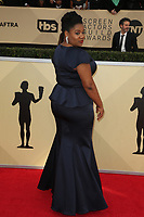 LOS ANGELES, CA - JANUARY 21: Adrienne C. Moore at The 24th Annual Screen Actors Guild Awards held at The Shrine Auditorium in Los Angeles, California on January 21, 2018. Credit: FSRetna/MediaPunch
