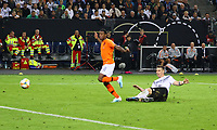 goal, Tor zum 2:4 für Georginio Wijnaldum (Niederlande) - 06.09.2019: Deutschland vs. Niederlande, Volksparkstadion Hamburg, EM-Qualifikation DISCLAIMER: DFB regulations prohibit any use of photographs as image sequences and/or quasi-video.