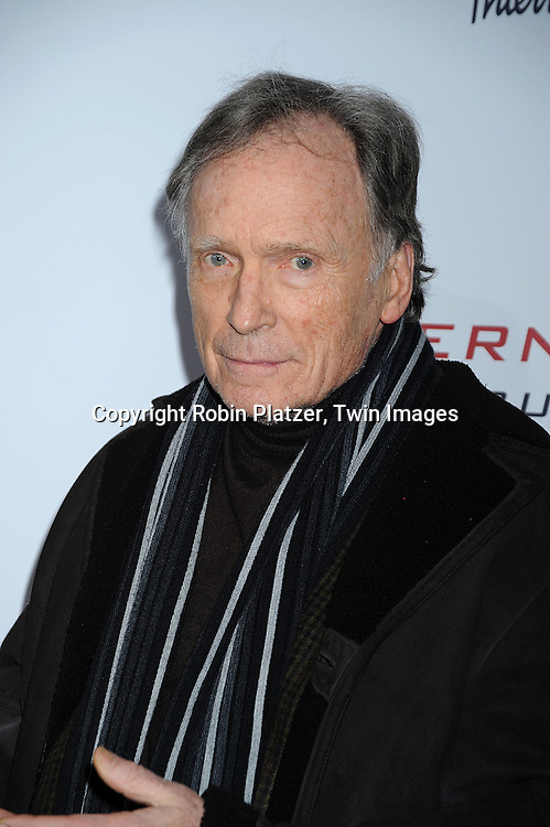 """Dick Cavett..attending The Cinema Society and Columbia Pictures world premiere of """"The International"""" on February 9, 2009 at ..the AMC Lincoln Square in New York City. Clive Owens and Naomi Watts are the stars of the movie. ....Robin Platzer, Twin Images"""