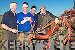 REPAIRS: Carrying out repairs to their tractor on Sunday in Causeway at the Causeway Ploughing Championship were: L-r: Thomas Healy(Ballyheigue), Cormac O'Connor, Willie Stokes and John O'Connor (Causeway).................................. ....