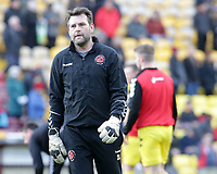 Fleetwood Town Goalkeeping Coach David Lucas during the pre-match warm-up <br /> <br /> Photographer David Shipman/CameraSport<br /> <br /> The EFL Sky Bet League One - Bradford City v Fleetwood Town - Saturday 9th February 2019 - Valley Parade - Bradford<br /> <br /> World Copyright &copy; 2019 CameraSport. All rights reserved. 43 Linden Ave. Countesthorpe. Leicester. England. LE8 5PG - Tel: +44 (0) 116 277 4147 - admin@camerasport.com - www.camerasport.com