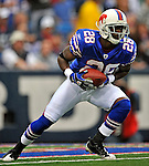 21 September 2008: Buffalo Bills' cornerback Leodis McKelvin returns a kickoff for a 57 yard return in the second quarter against the Oakland Raiders at Ralph Wilson Stadium in Orchard Park, NY. The Bills defeated the Raiders 24-23 to mark their first 3-0 start of the season since 1992...Mandatory Photo Credit: Ed Wolfstein Photo
