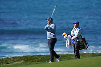 Matthew NeSmith (USA) in action during the final round of the AT&T Pro-Am, Pebble Beach, Monterey, California, USA. 08/02/2020<br /> Picture: Golffile | Phil Inglis<br /> <br /> <br /> All photo usage must carry mandatory copyright credit (© Golffile | Phil Inglis)