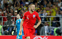 MOSCU - RUSIA, 03-07-2018: Eric DIER jugador de Inglaterra celebra después de anotar el cuarto gol en la tanda de penales definitorios a Colombia durante partido de octavos de final por la Copa Mundial de la FIFA Rusia 2018 jugado en el estadio del Spartak en Moscú, Rusia. / Eric DIER player of England celebrates after scoring winning penalty to Colombia during match of the round of 16 for the FIFA World Cup Russia 2018 played at Spartak stadium in Moscow, Russia. Photo: VizzorImage / Julian Medina / Cont