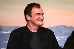 "Director Quentin Tarantino attends the press conference for their movie ""Once Upon a Time in Hollywood"" in Tokyo, Japan on August 26, 2019.  The film will be released in Japan on August 30.   (Photo by AFLO)"