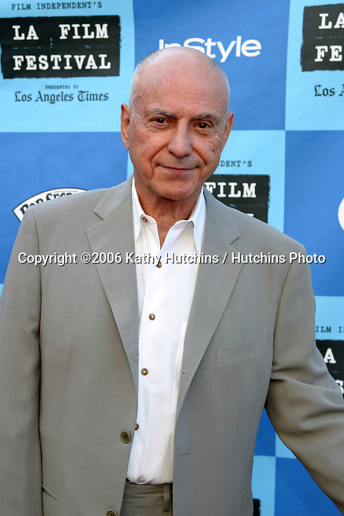 "Alan Arkin .""Little Miss Sunshine"" Premiere.Wadsworth Theater.Westwood, CA.July 2, 2006.©2006 Kathy Hutchins / Hutchins Photo...."