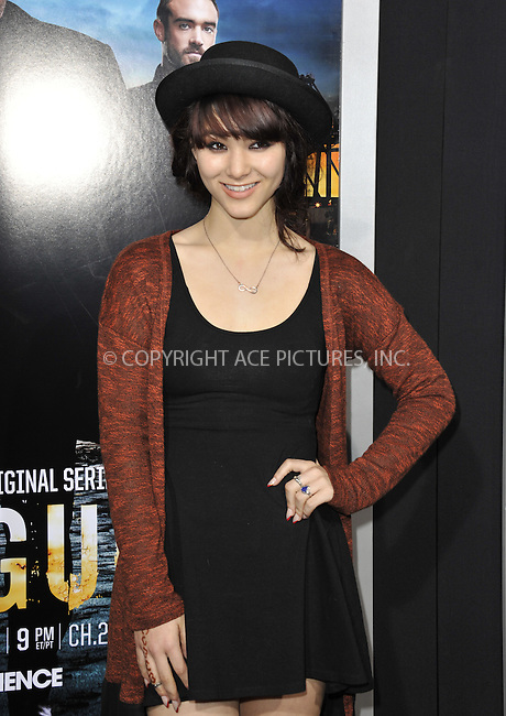 WWW.ACEPIXS.COM....March 26 2013, LA....Fivel Stewart arriving at the 'Rogue' Los Angeles premiere at ArcLight Hollywood on March 26, 2013 in Hollywood, California.....By Line: Peter West/ACE Pictures......ACE Pictures, Inc...tel: 646 769 0430..Email: info@acepixs.com..www.acepixs.com