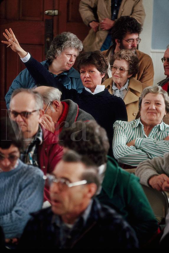 Town Meeting in Panton Vermont