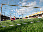 30.03.2019 Motherwell v St Johnstone: David Turnbull scores the second goal for Motherwell