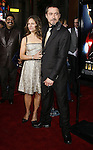 """Susan Downey and actor Robert Downey Jr. arrive to the """"Iron Man"""" premiere at Grauman's Chinese Theatre on April 30, 2008 in Hollywood, California."""