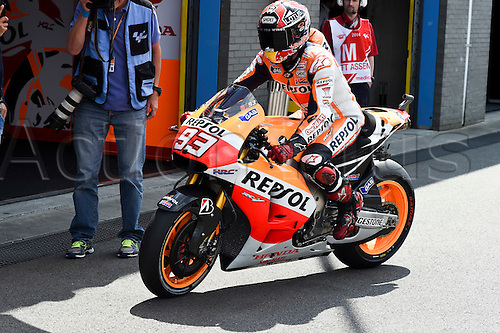 26.06.2014.  Assen, Netherlands. MotoGP. Iveco Daily TT Assen Free Practice. Marc MArquez (Repsol Honda team) during the free practice sessions at TT Assen circuit.