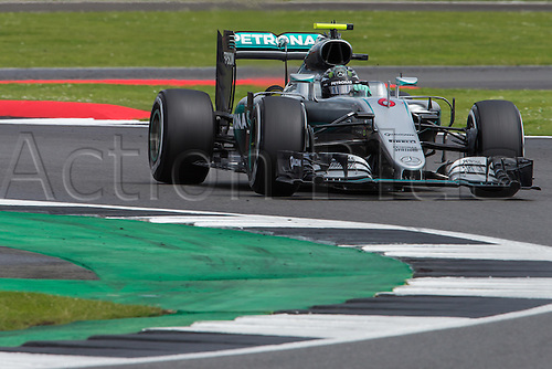 10.07.2016. Silverstone, England. Formula One British Grand Prix, race day.  Mercedes AMG Petronas Formula One Team driver Nico Rosberg.