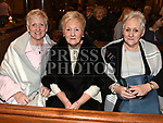 Ada Lowth, Ann Whittey and Rita Doyle at St Peters Male Voice Choir's Christmas concert in St Peters church West Street. Photo:Colin Bell/pressphotos.ie