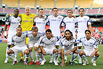 05 May 2010: Kansas City's starters pose for a team photo. DC United defeated the Kansas City Wizards 2-1 at RFK Stadium in Washington, DC in a regular season Major League Soccer game.