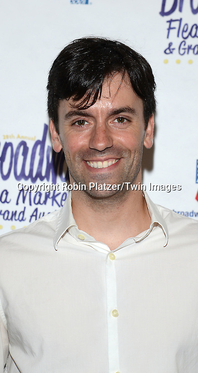 Clyde Alves attends the 28th Annual  Broadway Cares/ Equity Fights Aids Flea Market and Auction on September 21,2014 in Shubert Alley in New York City. <br /> <br /> photo by Robin Platzer/Twin Images<br />  <br /> phone number 212-935-0770