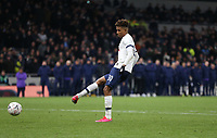 Tottenham Hotspur's Gedson Fernandes misses his penalty during the shoot-out<br /> <br /> Photographer Rob Newell/CameraSport<br /> <br /> The Emirates FA Cup Fifth Round - Tottenham Hotspur v Norwich City - Wednesday 4th March 2020 - Tottenham Hotspur Stadium - London<br />  <br /> World Copyright © 2020 CameraSport. All rights reserved. 43 Linden Ave. Countesthorpe. Leicester. England. LE8 5PG - Tel: +44 (0) 116 277 4147 - admin@camerasport.com - www.camerasport.com