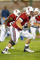Mike Sullivan during Stanford's 63-26 win over San Jose State on September 14, 2002 at Stanford Stadium.<br />Photo credit mandatory: Gonzalesphoto.com