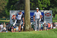 Jason Day (AUS) approaches the green on 18 during 4th round of the World Golf Championships - Bridgestone Invitational, at the Firestone Country Club, Akron, Ohio. 8/5/2018.<br /> Picture: Golffile | Ken Murray<br /> <br /> <br /> All photo usage must carry mandatory copyright credit (© Golffile | Ken Murray)