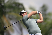 Lucas Bjerregaard (DEN) in action on the 5th during Round 1 of the Maybank Championship at the Saujana Golf and Country Club in Kuala Lumpur on Thursday 1st February 2018.<br /> Picture:  Thos Caffrey / www.golffile.ie<br /> <br /> All photo usage must carry mandatory copyright credit (&copy; Golffile | Thos Caffrey)