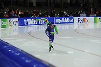 SCHAATSEN: HEERENVEEN: 12-12-2014, IJsstadion Thialf, ISU World Cup Speedskating, Anice Das (NED), ©foto Martin de Jong