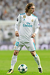 Real Madrid's Luka Modric during Champions League Group H match 3. October 17,2017. (ALTERPHOTOS/Acero)