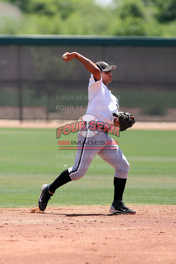 Jeff Patino, Chicago White Sox 2010 extended spring training..Photo by:  Bill Mitchell/Four Seam Images.