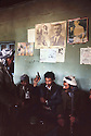 Iran 1982.In a shaikhane, sale of weapons