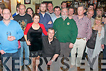 50th Birthday: John Chute, Listowel, seated centre, celebrating his 50th birthday with family & friends at the Saddle Bar, Listowel on Saturday night last.