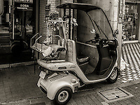 Noodle Delivery in Ota, Japan 2014.