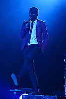 SUNRISE FL - JULY 02: Tyler Joseph of Twenty One Pilots performs at The BB&T Center on July 02, 2016 in Sunrise, Florida. Credit: mpi04/MediaPunch