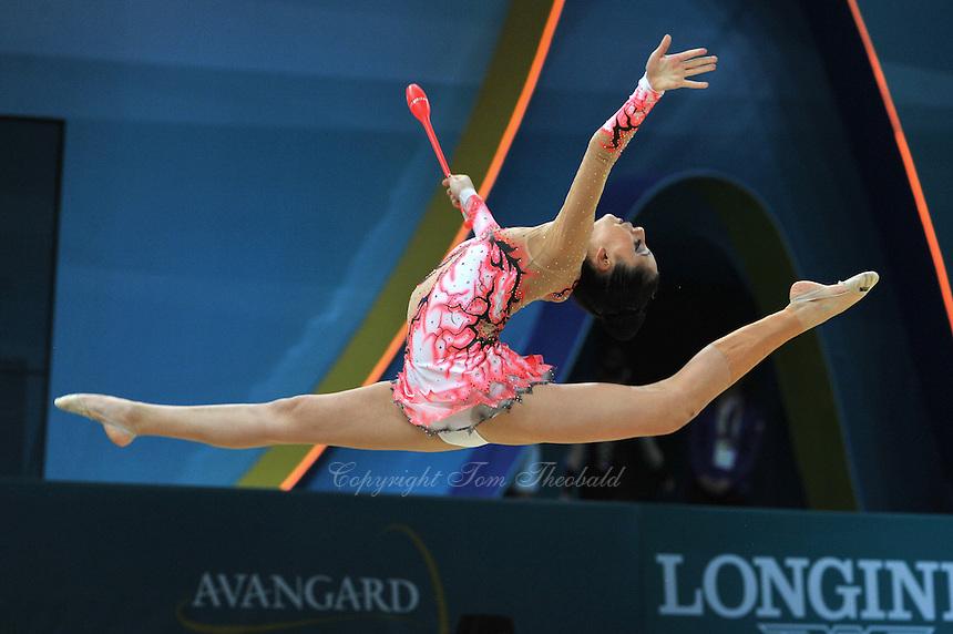 August 28, 2013 - Kiev, Ukraine - Valentina Castro Zumaran of Chile performs at 2013 World Championships.