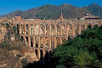 Spanien, Andalusien, Aquedukt bei Nerja