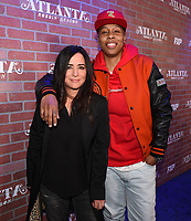 """LOS ANGELES - FEBRUARY 19: Lena Waithe, Pamela Adlon arrives at the red carpet event for FX's """"Atlanta Robbin' Season"""" at the Ace Theatre on February 19, 2018 in Los Angeles, California.(Photo by Frank Micelotta/FX/PictureGroup)"""