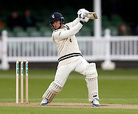 Sean Dickson bats for Kent during day 1 of the four day tour match between Kent CCC and Pakistan at the St Lawrence Ground, Canterbury, on Sat April 28, 2018