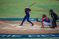 Santos Roel.<br /> Partido de beisbol de la Serie del Caribe con el encuentro entre los Alazanes de Gamma de Cuba contra los Criollos de Caguas de Puerto Rico en estadio de los Charros de Jalisco en Guadalajara, M&eacute;xico, Martes 6 feb 2018. <br /> (Foto: AP/Luis Gutierrez)