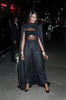 06 April 2019 - New York, New York - Naomi Campbell arriving for the Wedding Reception of Marc Jacobs and Char Defrancesco, held at The Pool.<br /> CAP/ADM/LJ<br /> ©LJ/ADM/Capital Pictures