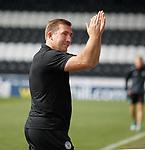 04.08.18 St Mirren v Dundee: Happy boss Alan Stubbs at full time