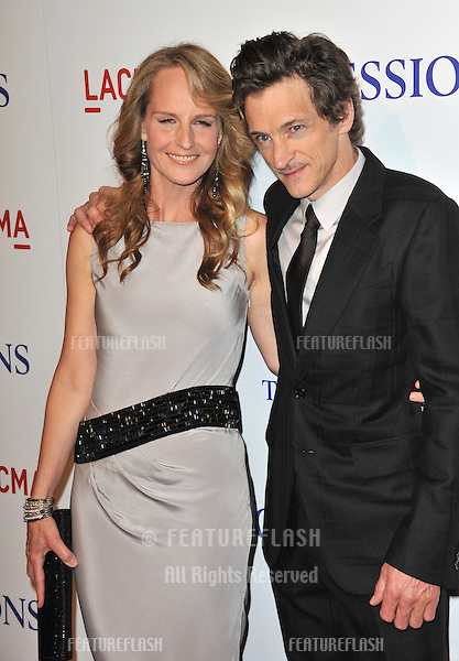 "Helen Hunt & John Hawkes at the premiere of their movie ""The Sessions"" at the LA County Museum of Art..October 10, 2012  Los Angeles, CA.Picture: Paul Smith / Featureflash"