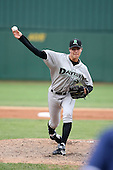 June 13th 2008:  Pitcher Kyle Lotzkar of the Dayton Dragons, Class-A affiliate of the Cincinnati Reds, during a game at Stanley Coveleski Regional Stadium in South Bend, IN.  Photo by:  Mike Janes/Four Seam Images