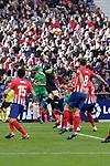 (L to R) Club Atletico de Madrid's Stefan Savic, Jan Oblack, Saul Niguez, Jose Maria Jimenez and Futbol Club Deportivo Alaves' Jonathan Calleri during La Liga match. December,8,2018. (ALTERPHOTOS/Alconada)