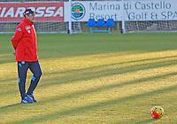 Allenamento del Napoli nel centro sportivo di CastelVolturno<br />  Maurizio Sarri