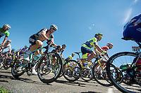 Mark Reshaw (AUS/Omega Pharma-Quickstep) up C&ocirc;te du Saule-D'Oingt (3rd CAT/3.8km/4.5%)<br /> <br /> 2014 Tour de France<br /> stage 12: Bourg-en-Bresse - Saint-Eti&egrave;nne (185km)