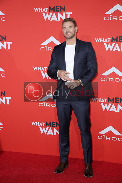 """Kellan Lutz<br /> at the """"What Men Want"""" Premiere, Village Theater, Westwood, CA 01-28-19<br /> David Edwards/DailyCeleb.com 818-249-4998"""