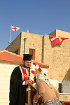 Israel, Jaffa, St. Michael's Day at the Greek Orthodox St. Michael's Church
