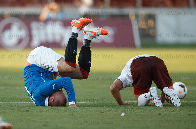 Kris Boyd head over heels